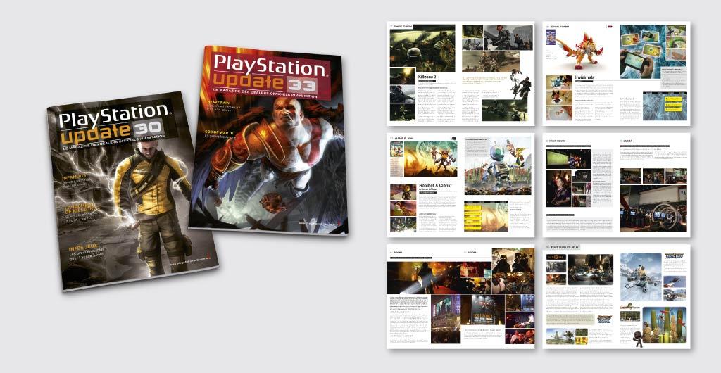 Magazine Sony PlayStation Dealer Update